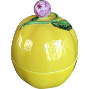 Herend Lemon Trinket Box