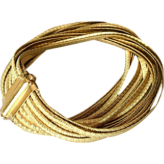 Marco Bicego 18K Gold Woven Bracelet