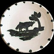 Picasso Madoura Ceramic Plate