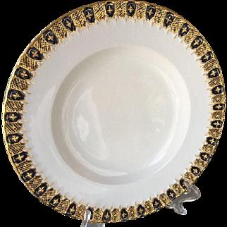 12 Royal Crown Derby Heraldic Dinner Plates