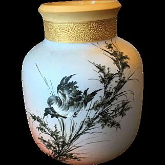 """Antique Rookwood 8 5/8"""" Albert Valentien Vase 1880's"""