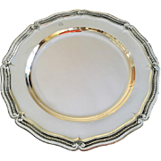 """Tiffany and Co 13 1/4"""" Sterling Silver Platter #2"""