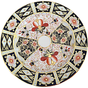 4 Traditional Imari Royal Crown Derby 2451 Salad Plates