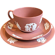 Wedgwood Terracotta Jasperware Trio