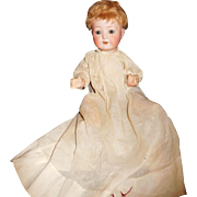 """13"""" Antique German Heubach Koppelsdorf Breather Baby Doll"""