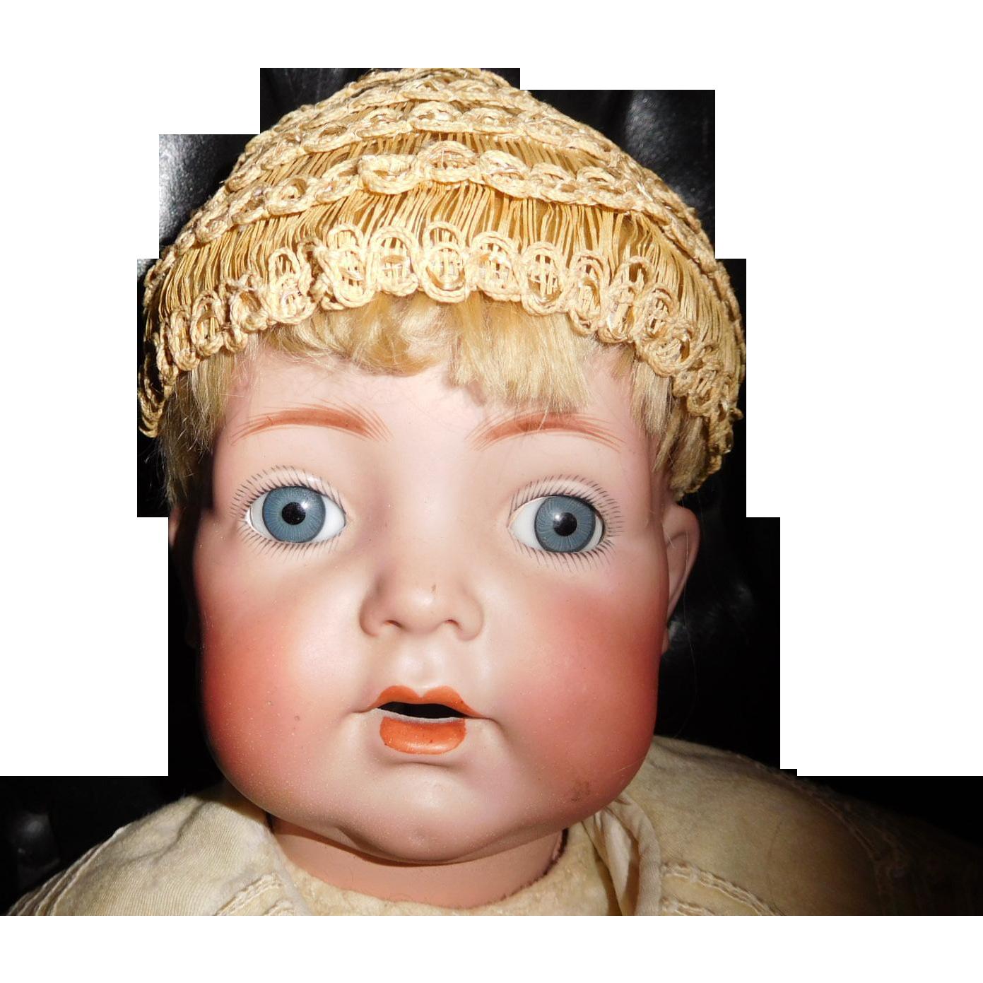 """20"""" Antique Kammer & Reinhardt K R 121 German Baby Doll Great"""