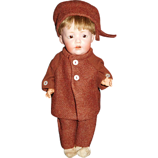 "12"" Antique Kestner Character Doll Incised HILDA      AS IS"