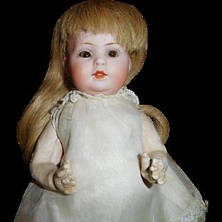 "9"" Antique Size 0 Bahr & Proschild #585 Character Toddler Doll"