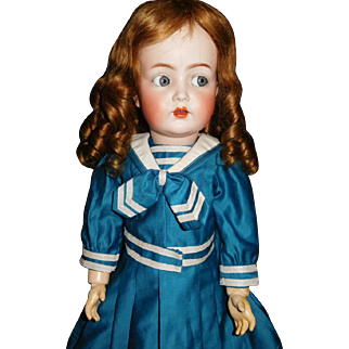 """21"""" Antique & Adorable Kammer & Reinhardt Character Doll 117n With Flirty Eyes"""