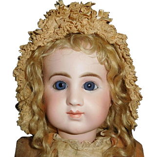 "23"" Antique French Doll ""Joanny"" Made By Joseph Joanny Ca. 1880's  RARE"