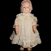 "11""Antique Schoenhut Toddler With No repair or Repaint.  It Has 2 Labels"
