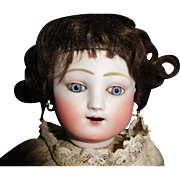 """17"""" Antique Mechanical Kicking/Crying French Steiner Doll"""