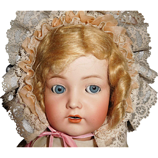 "22"" Antique Kammer & Reinhardt Character Doll Model #117n With Flirty Eyes"