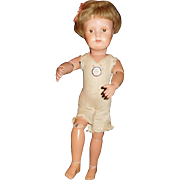 """16"""" Antique Dolly Face Schoenhut Doll - All Original And Nearly Mint"""