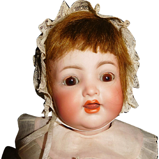 "2"" Antique Adorable Kammer & Reinhart Character Baby Doll Model #126"
