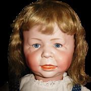 "24"" Antique Simon & Halbig German Character Toddler Doll Model #1428 - Wonderful Large Size"