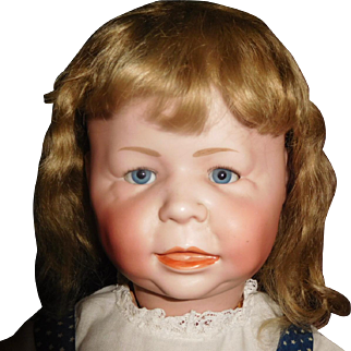 "24"" Antique Simon & Halbig German Character Toddler Doll Model #1428 - Wonderful Large Size"