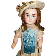 """17"""" Antique Lovely French Steiner Bebe Marked Head & Body"""