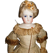 "15  1/2"" Antique & Early French Fashion Doll"