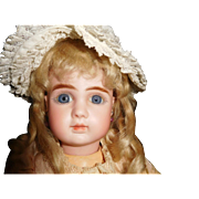 "16"" Antique Lovely French Steiner Closed Mouth Doll Marked Head & Body"