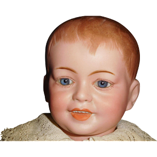"""13"""" Antique SFBJ French Character Boy Doll Incised  Model #227"""