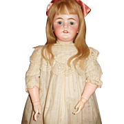 "33"" Antique Very Large & Very Pretty Simon & Halbig Doll Model#1078 Marked Head & Body"