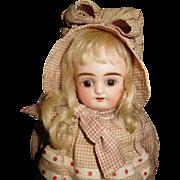 "12 1/2"" Antique Kestner Doll Incised C  With Original Clothes - Very Precious"