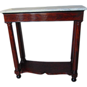 Late Federal American Pier Table