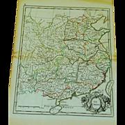 18th Century Map of China (1756)