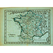 18th Century Map of France (1756)