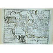 18th Century Map of Alexander the Great (1756)