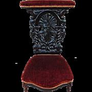 Victorian Rosewood Kneeler