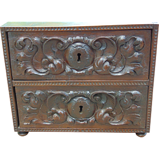 17th Century Continental Traveling Box