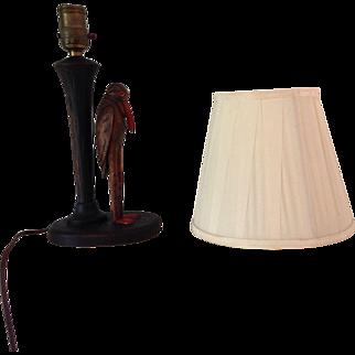 Small Folk Art Lamp