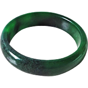 Chinese Emerald Imperial Green Jadeite Bangle