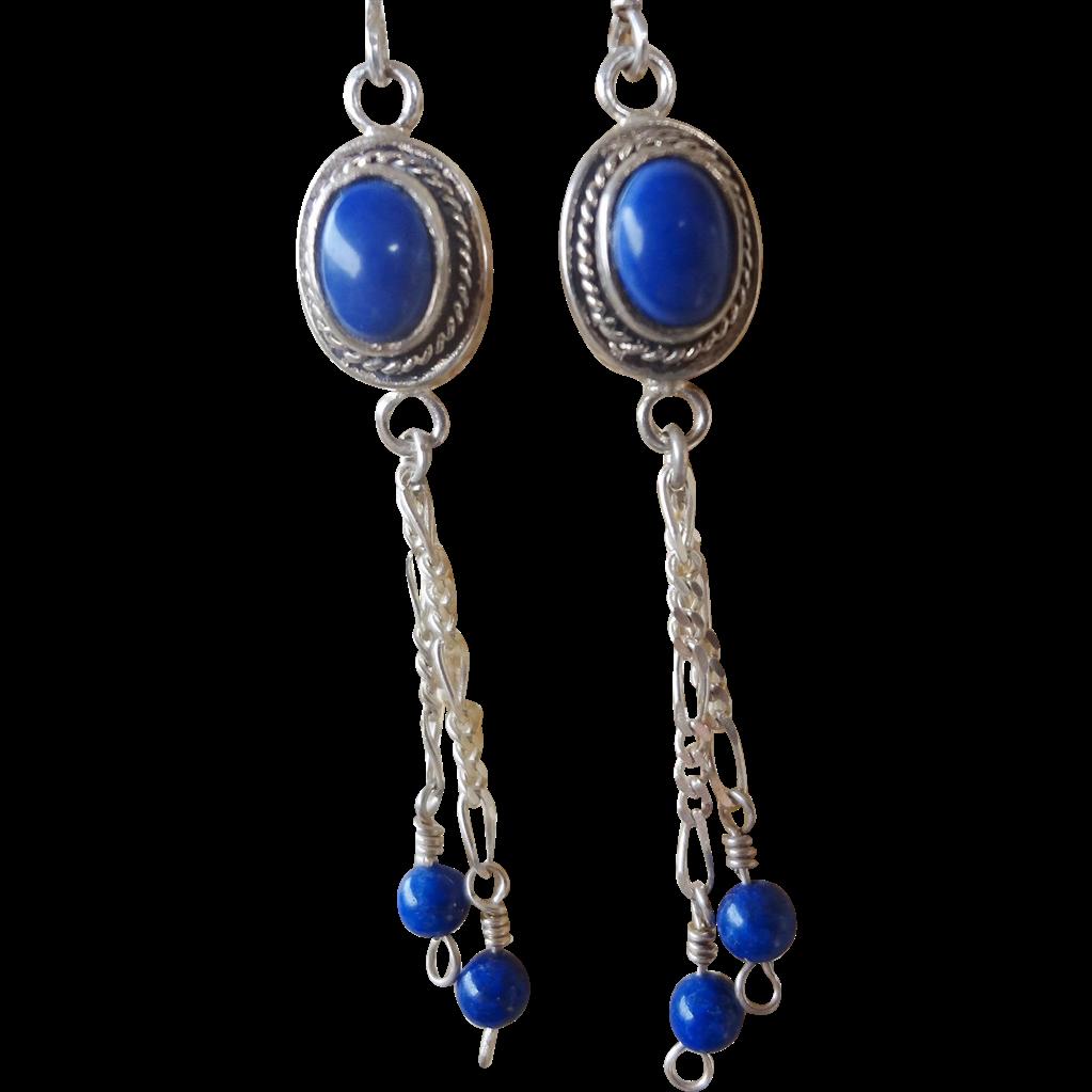 Vintage Silver Earrings 96