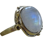 Vintage Moonstone Ring Size 5.5