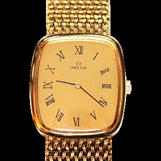 Vintage Mens Omega Watch