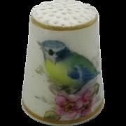1920 s Worcester porcelain thimble.