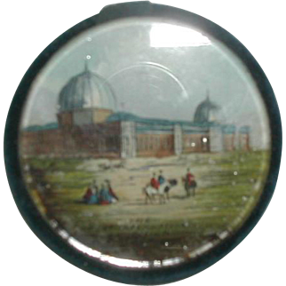 1862 Great International Exhibition gem picture pin cushion