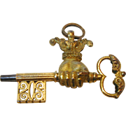 An unusual watch key in the shape of a hand. 19th century.