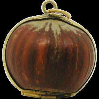 Hazelnut + contents. c 1840