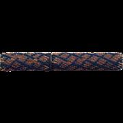 Victorian bead work needle / bodkin case. c 1860