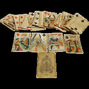 1830s playing cards- Thomas Creswick