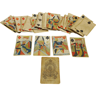 1830s playing cards- Thomas Creswick