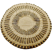 1851 pin wheel souvenir of the Great Exhibition in London.
