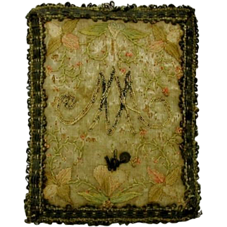 Religious relic- French 18th century devotional piece.