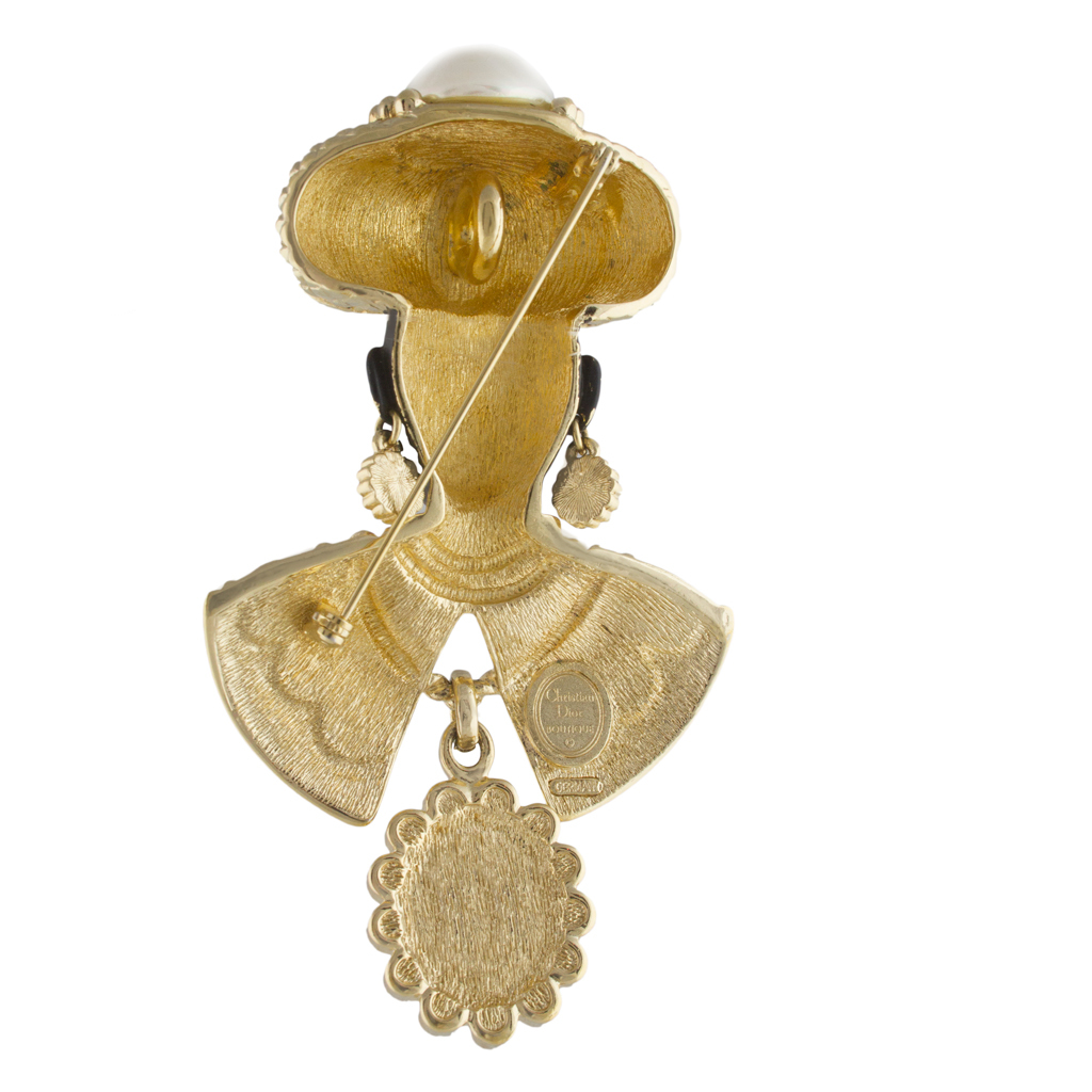 Bijoux Vintage Christian Dior : Christian dior bijoux blackamoor brooch sold on ruby lane