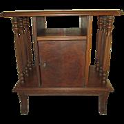 Vintage Humidor, cabinet.