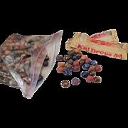 Vintage For-eta nut co.  Nut drop marbles 1925-1931